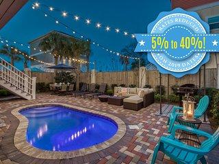 AS YOU WISH: Coastal Decor, Private Pool, Gulf Views, Includes Daily Beach Servi
