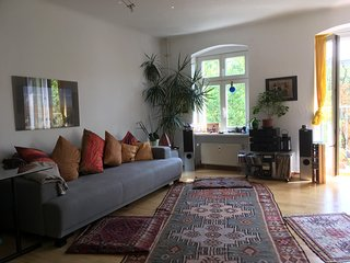 3 room, furnished, newly renovated,inspring vacation at Kanal, Kreuzberg/ Berlin