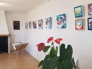 Twin Room ( small ) in B & B Licenced with pool, garden and art gallery