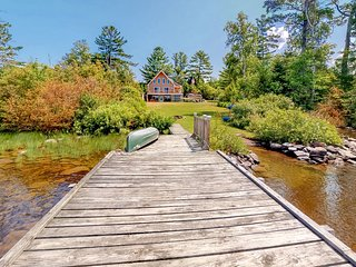 Waterfront home with canoe and kayaks - 100 ft. from the water!