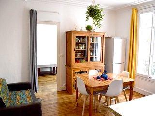 Bel appartement de charme en bordure de Paris