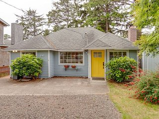 THE YELLOW ABODE ~ MCA 801 ~ A charming home in town with a peaceful backyard