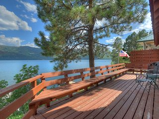 Waterfront Vacation Rental Home at Vallecito Lake near Durango Colorado