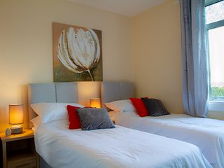 Fox House. Spacious 2 bedroom 1st floor flat able to accommodate up to 8 people.