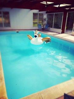 La piscine intérieure10x5m