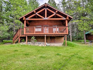Trego Cabin w/Mtn Views, Easy Access to Lake