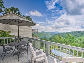 NEW! Roaring Gap Resort Home w/ Panoramic Views!