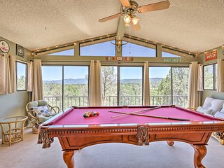 Spacious Prescott Home w/Pool Table+Mtn Views