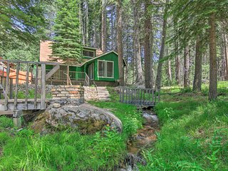 NEW! Creekside Cabin w/Deck, 10 Mi to S Lake Tahoe