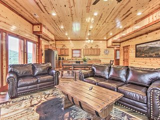 NEW! Sevierville Cabin w/Pool, Hot Tub, Pool Table