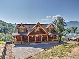NEW! Award-Winning Pigeon Forge Cabin w/Game Room!