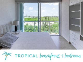 * TROPICAL beachfront 1 Bedroom*