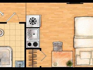 #2C Private Apartment Near Namba