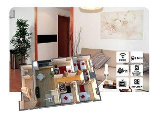 #300 . 4 Bedrooms! 500m to Tsutenkaku&3 min walk to train