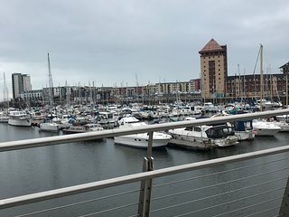 Sea Front Marina view