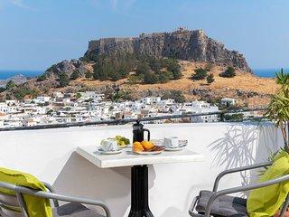 Flora Studio with Acropolis View