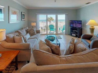 Overlooking the Beach and Pool.  A Great Location, Setup for a Great Vacation!