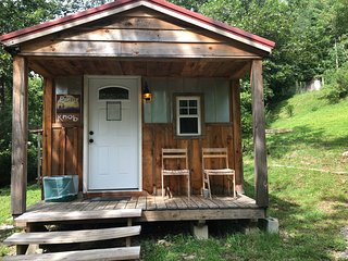 Piney Knob. Secluded & private yet close to Asheville. Pets are welcome!