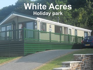 White Cross, Newquay, Cornwall, White Acres, TR8 4LW. Lodge 283