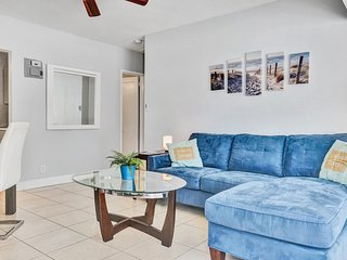 2 bed/1 bath house in Fort Lauderdale_The Blue House