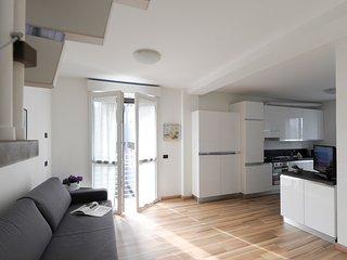 Brand-new duplex with balcony