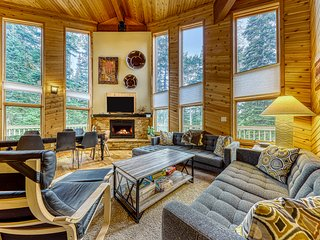 Secluded, dog-friendly cabin located close to the ski resort