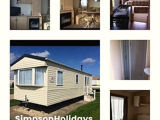 Simpson Holidays Chapel St Leonards 4/5 berth caravan Happy Days North