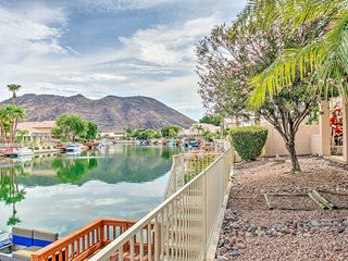 NEW! Cozy Waterfront Glendale Home w/ Patio & Dock