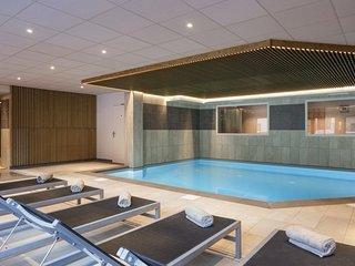 Appartement spacieux et cosy proche des pistes | Acces spa + piscine chauffee