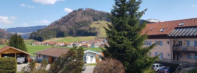 Vue de notre montagne locale