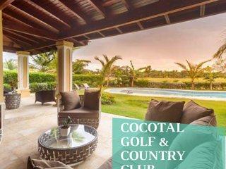 Spectacular villa in Cocotal. Playa Bavaro. Punta Cana