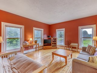 NEW LISTING! Remodeled Victorian-style duplex with hiking, biking, skiing nearby
