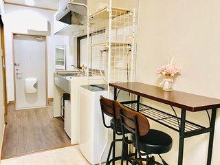 NEW OPEN! Clean Cozy room near Ikebukuro, Shinjuku, and Shibuya. FREE WIFI