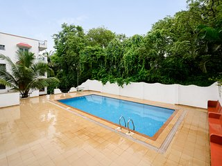 Cosy 1 BHK with a pool, 900 m from Chapora Beach /60500