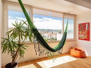 The hammock place with a river view