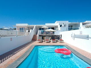 Villa with sea views and gated pool in Puerto del Carmen ref LVC328549
