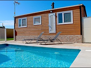 Bungalow con piscina privada