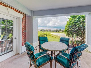 Dog-friendly condo w/ access to shared resort pools, hot tub, game rooms, & more