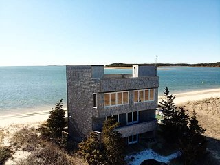 Secluded Beach House Nestled on Private Coastal Dune at tip of Peninsula!