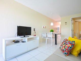Praia Residence - Apto 2 Quartos no Centro de Porto (201B)