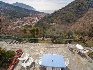 Villa Pia con piscina Recco Camogli Cinque Terre (a)