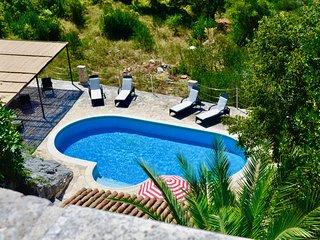 Restored 350 year old Villa, stunning views, idyllic location, large pool