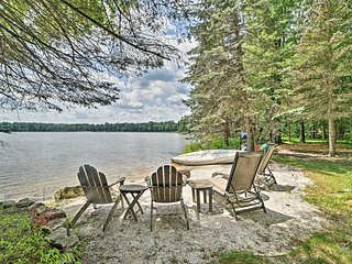 Luxe Poconos Pines Home w/ Beach + Amenities!