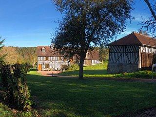 Magnifique maison à colombages proche Deauville