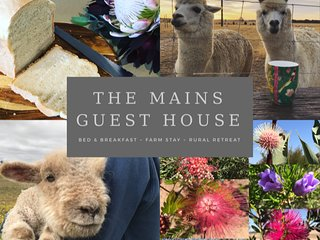 The Mains Guest House - Farm Stay - Bed and breakfast Corrigin Western Australia