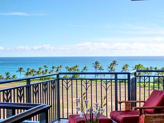 Spectacular Oceanfront Condo ~ Beach Villas at Ko Olina ~ End Unit O824