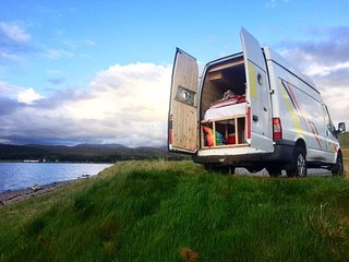 Explore Scotland in a campervan