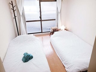 5 minutes to hakaa sta. max. 4people modern western style room #5