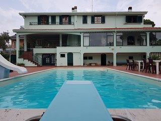 Villa presidenziale in uso ESCLUSIVO con piscina e barbecue a 300m dal mare