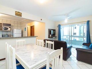 Aluguel Apartamento 3 quartos s/ 1 suite 150m Mar| Bombas/SC 452A - Estrela do M
